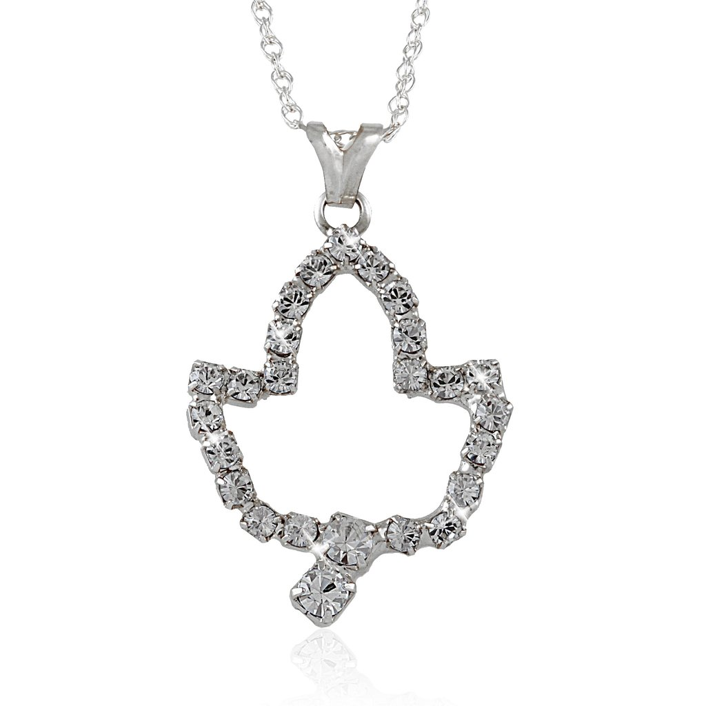 1024x1024 Aka Ivy Leaf Silver Necklace Arvensis Crystal Jewelry