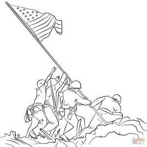 300x300 Usa Flag Coloring Page