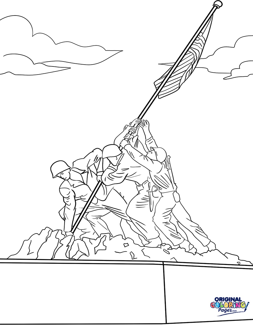 815x1056 Veterans Day Coloring Pages Original Coloring Pages