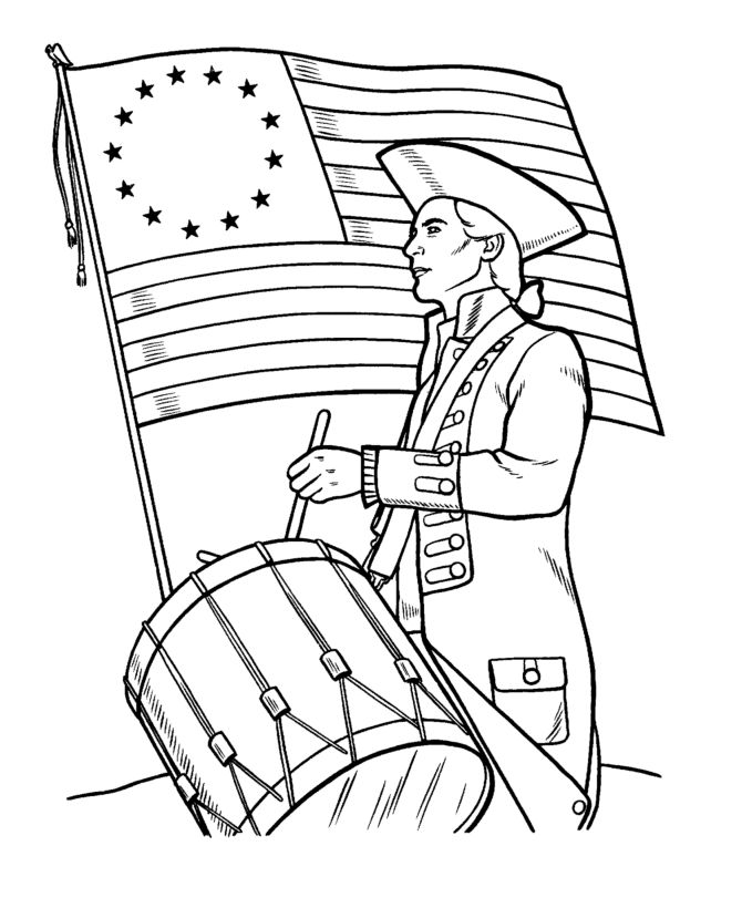 670x820 Best Memorial Day Coloring Pages Ideas On American