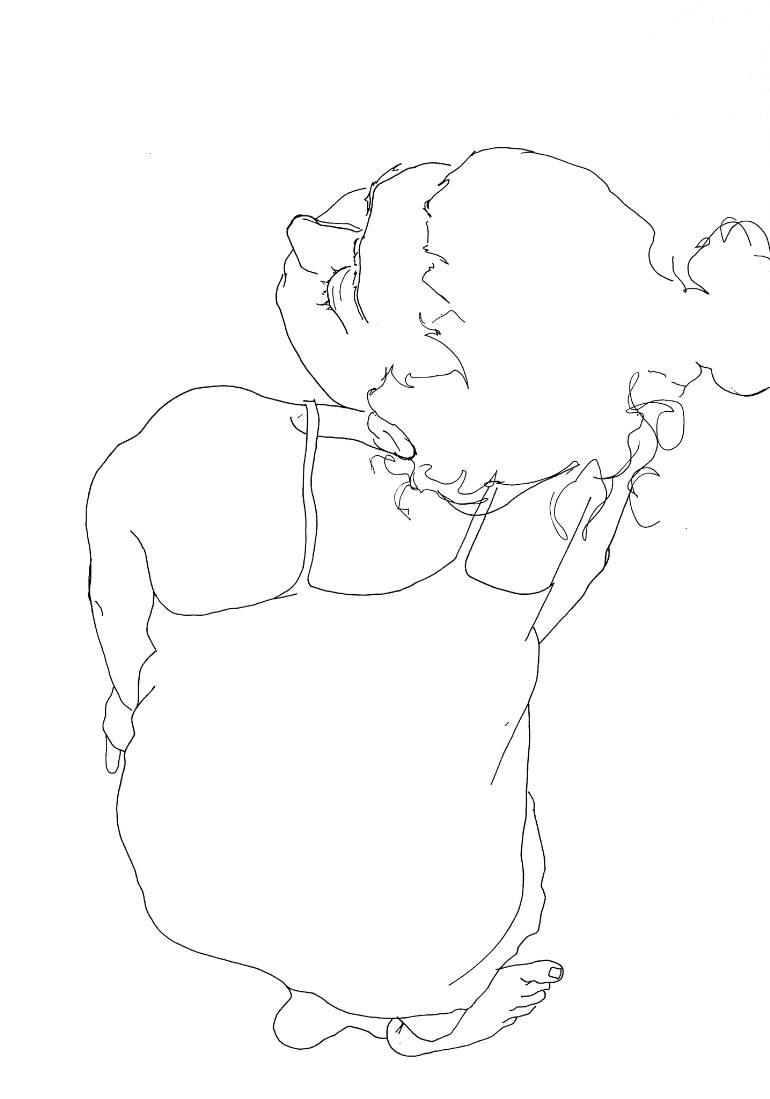 770x1099 Saatchi Art No Title Drawing