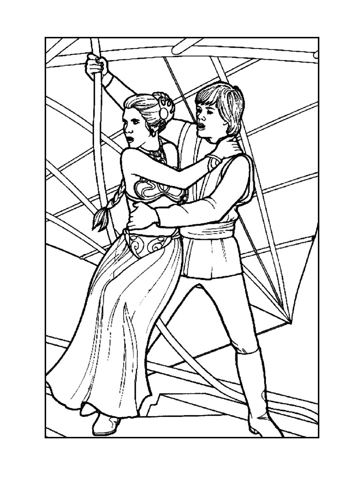 750x995 Star Wars Coloring Pages!