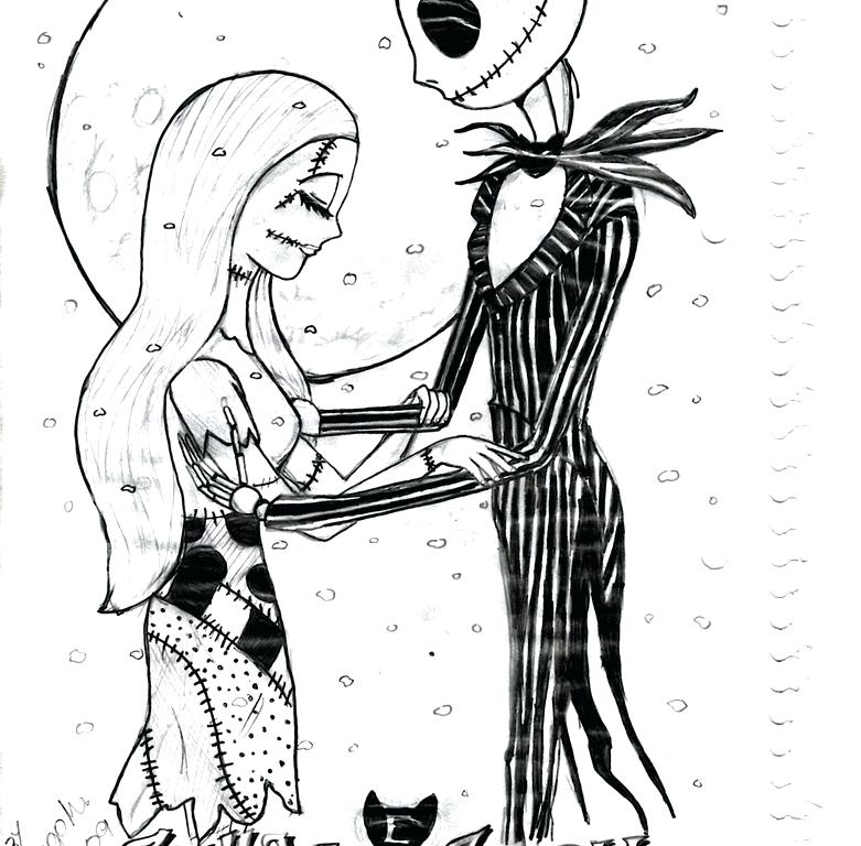 781x768 Jack The Pumpkin King Coloring Pages Nightmare Before Coloring