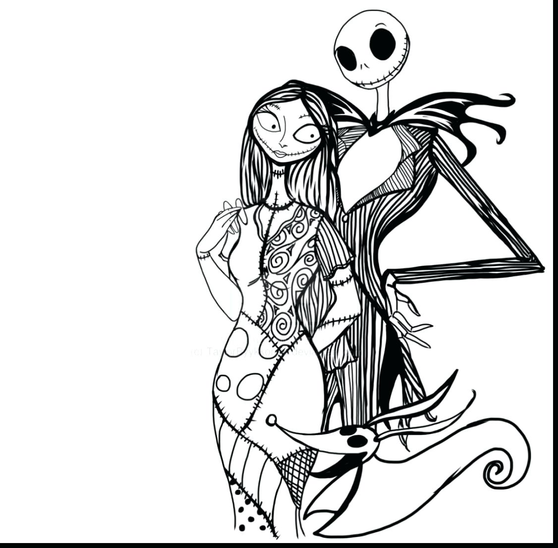 1126x1106 Coloring Nightmare Before Christmas Coloring Sheets Pics Of Sally