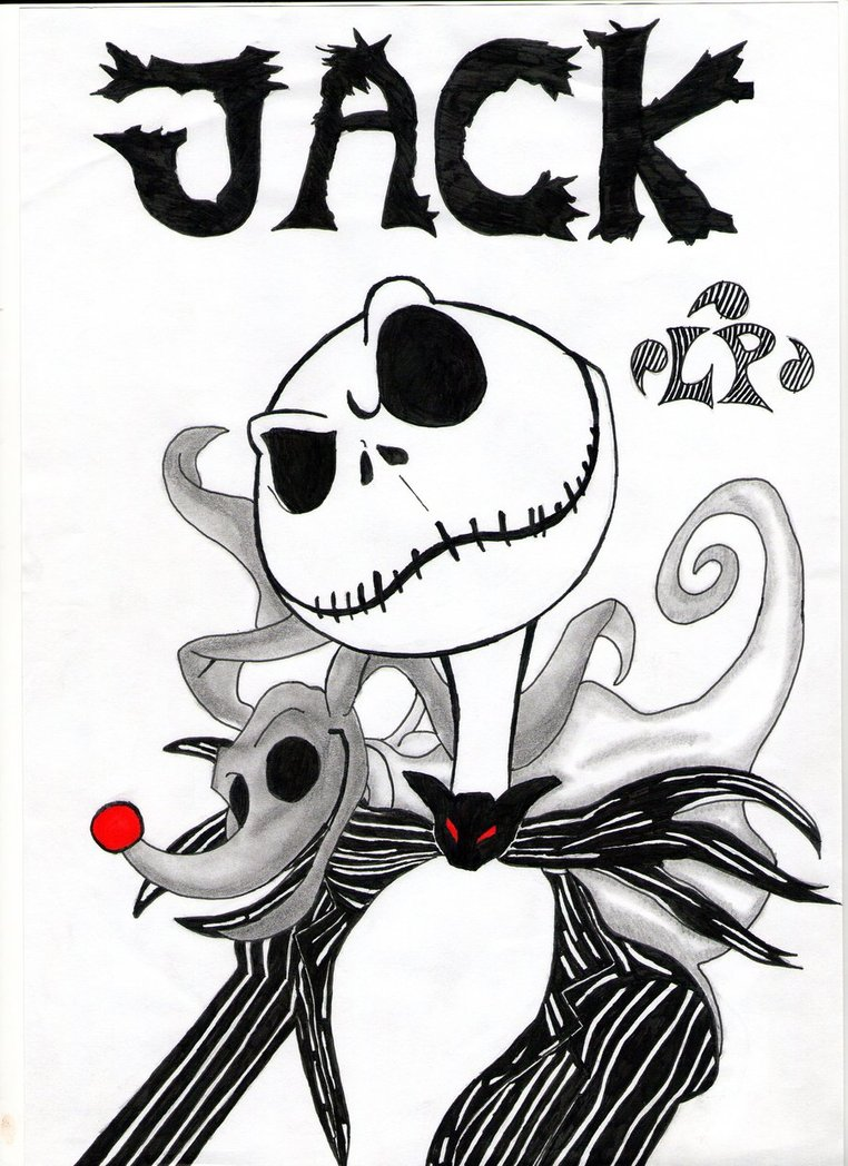 762x1048 Jack Skellington By Lploki