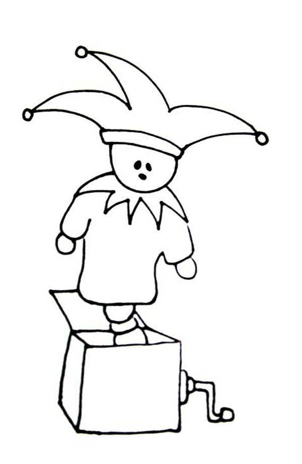 600x923 How To Draw Jack In Box Coloring Page How To Draw Jack In
