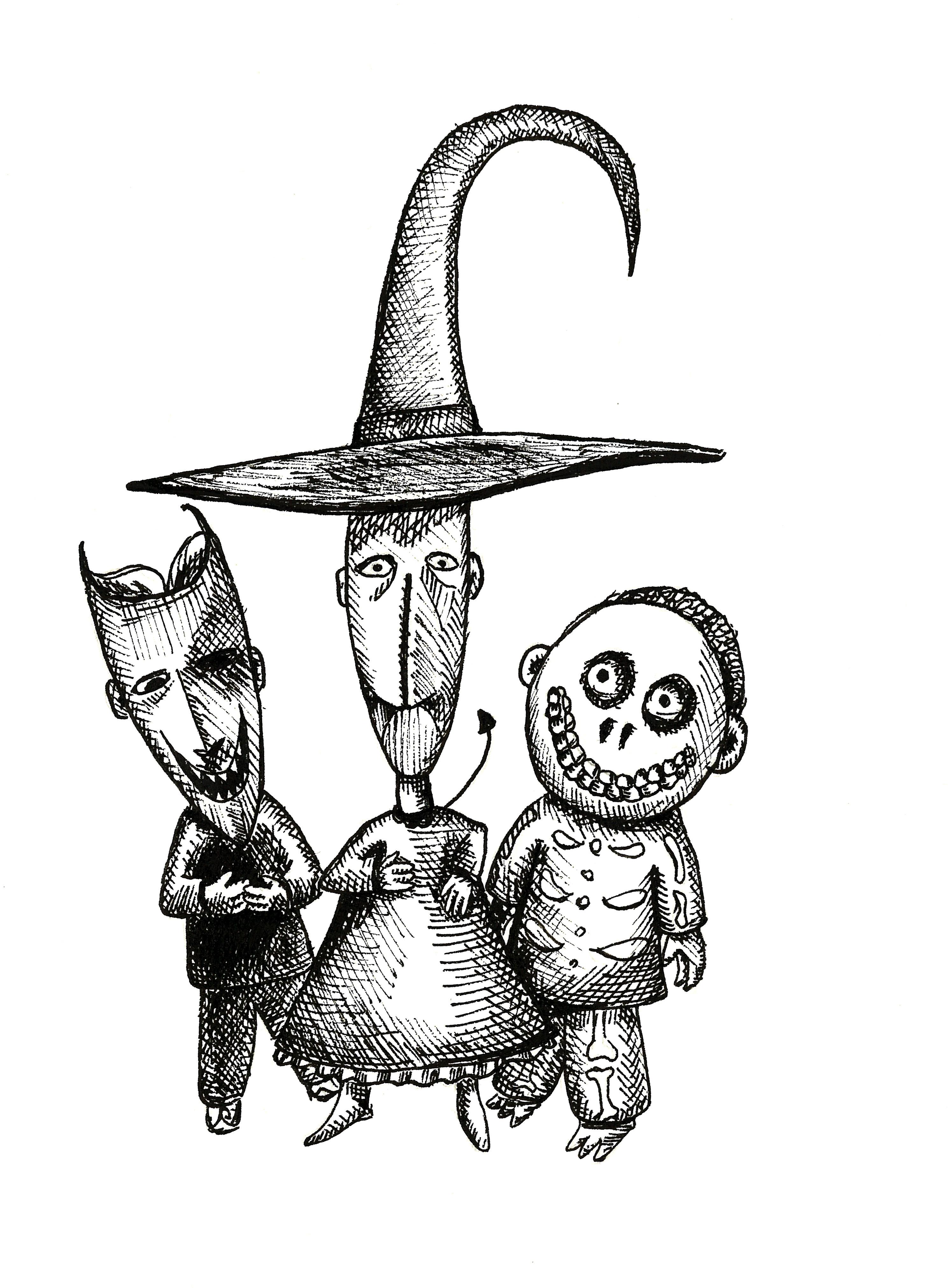 2977x4043 The Nightmare Before Christmas Drawings Jack Nightmare Before