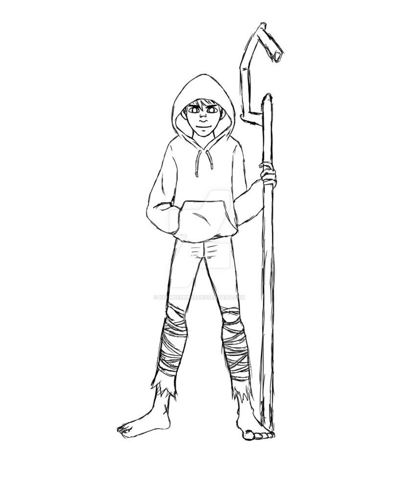 816x979 Jack Frost Sketch By Keemkemms18