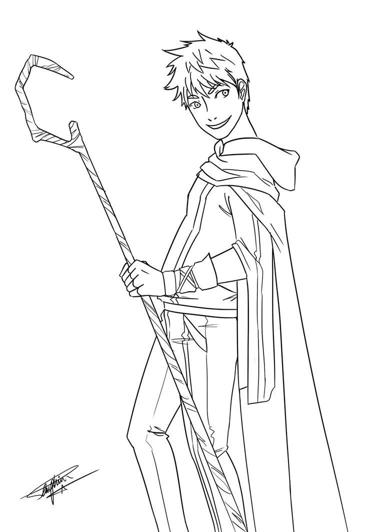 752x1063 Jack Frost With Drap Sleeve By Kayameyuri