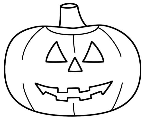 600x506 Halloween Jack O Lantern Coloring Pages Colouring In Sweet Page