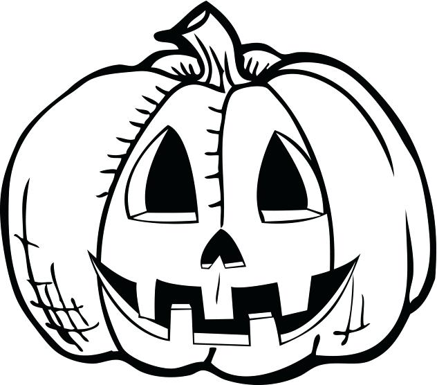 632x556 Jack O Lantern Coloring Pages Pumpkin Drawing New Free Jack O