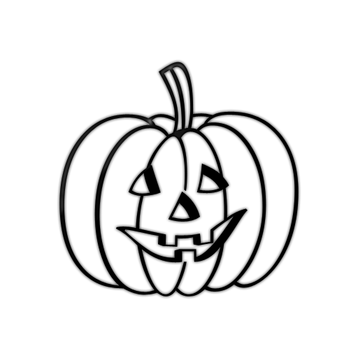 512x512 Jack O Lantern Outline Clipart Of Jack O Lantern Clipartxtras