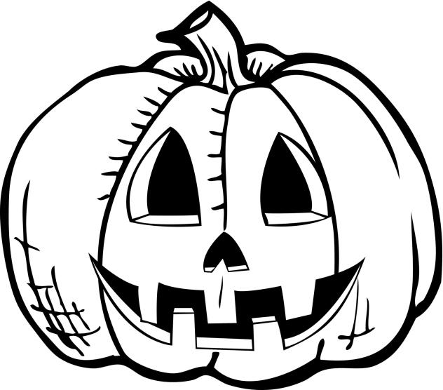 632x556 Drawings Of Halloween Pictures Halloween Pumpkin Drawing Cbs