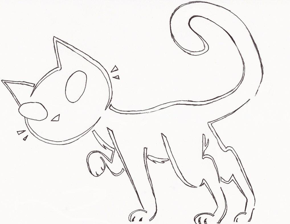 1018x785 Cat Jack O Lantern Stencil By Beezah