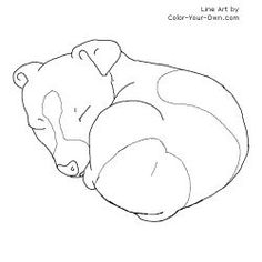 236x236 New Dog Coloring Pages