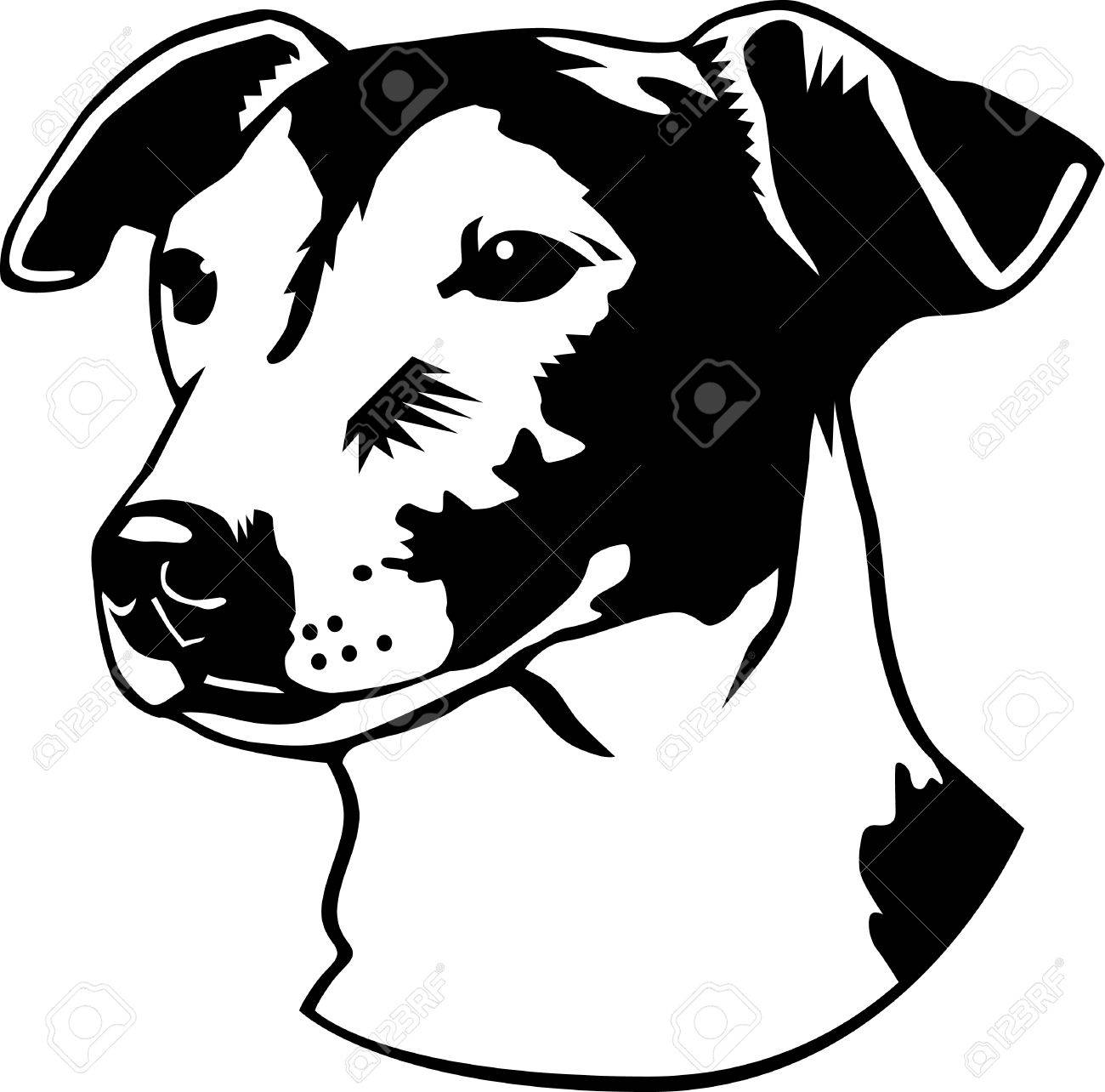1300x1284 A Jack Russell Terrier Illustration. Royalty Free Cliparts