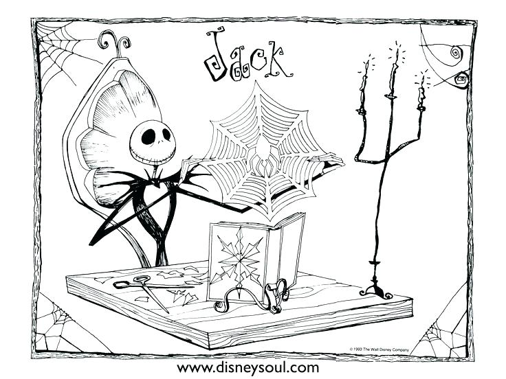 736x552 Fresh Jack Skellington Coloring Pages Or Nightmare Before Coloring