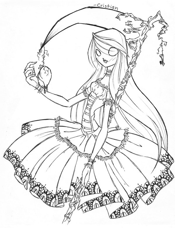 600x780 This Is Alice Skellington. Daughter Of Jack And Sally