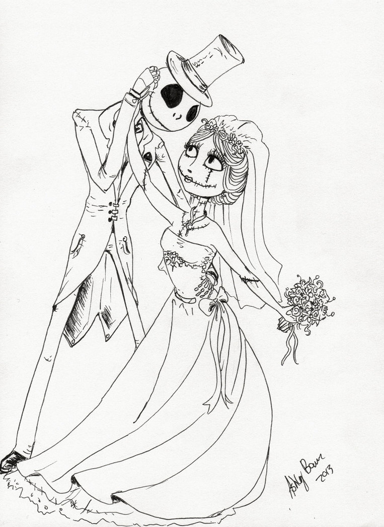 Jack Skelington Drawing At Getdrawings Com Free For Personal Use