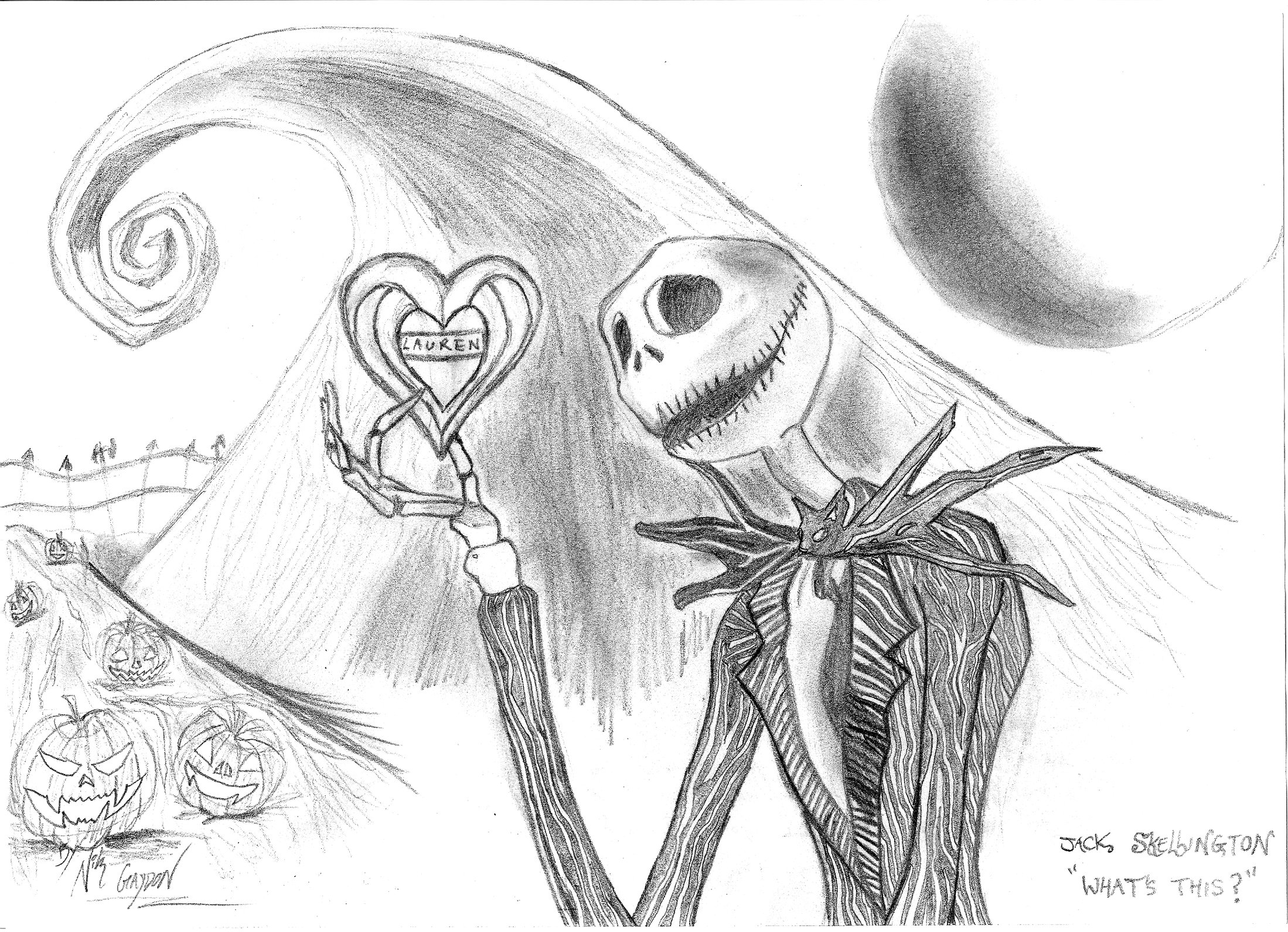 2198x1591 Jack Skellington What's This By Dante365