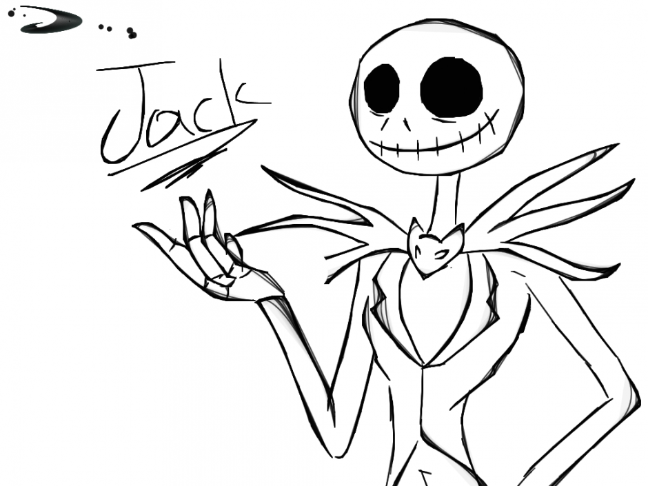 Jack Skellington And Sally Drawing at GetDrawings | Free ...