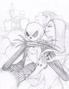 233x300 Jack Skellington And Sally Drawings