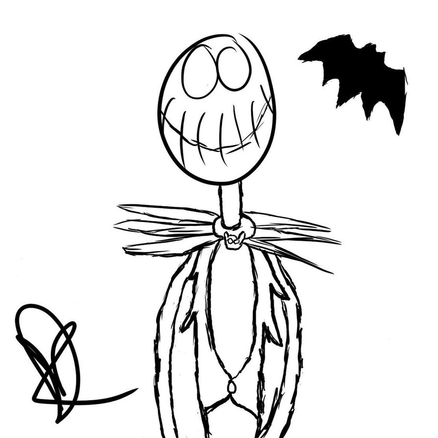 jack the pumpkin king drawing at getdrawings com free for personal