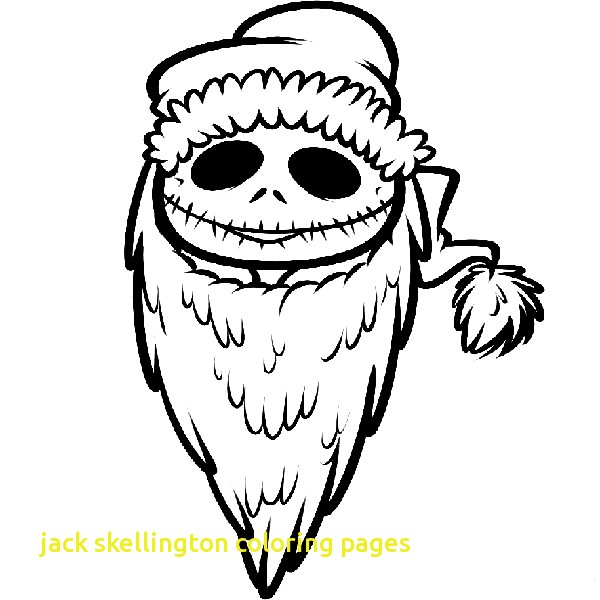 600x600 Jack Skellington Coloring Pages With Cool The Nightmare Before