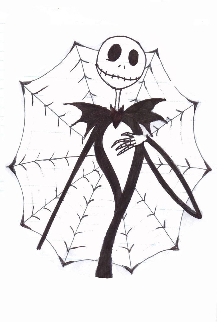 Jack The Skeleton Drawing at GetDrawings.com | Free for personal use ...