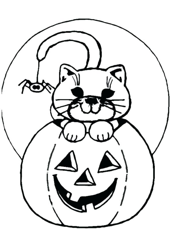 600x847 Halloween Jack O Lantern Coloring Pages Colouring In Sweet Draw