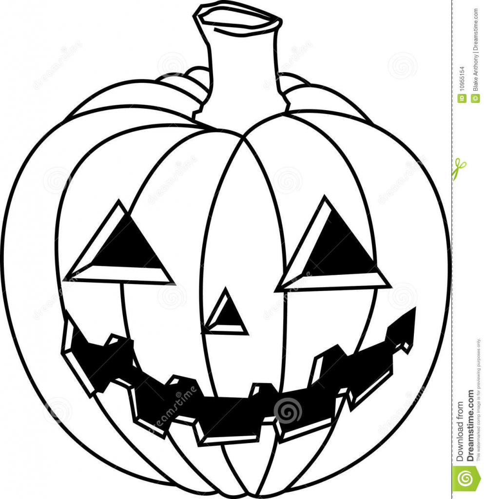 997x1024 Jack O Lantern Drawing Jack O Lantern Stock Images