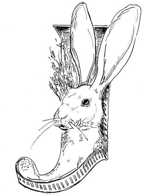 500x656 Best Jackrabbit Type Rabbit Alphabet Micron Images On Designspiration