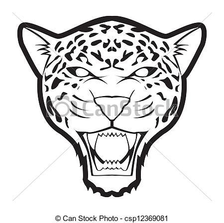 450x448 Jaguar Clip Art Color