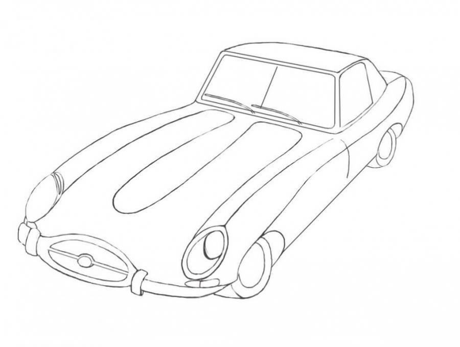 900x678 Jaguar. Types Drawings. Drawings. Pictures. Drawings Ideas
