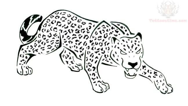 648x364 Awesome Jaguar Tattoo Design