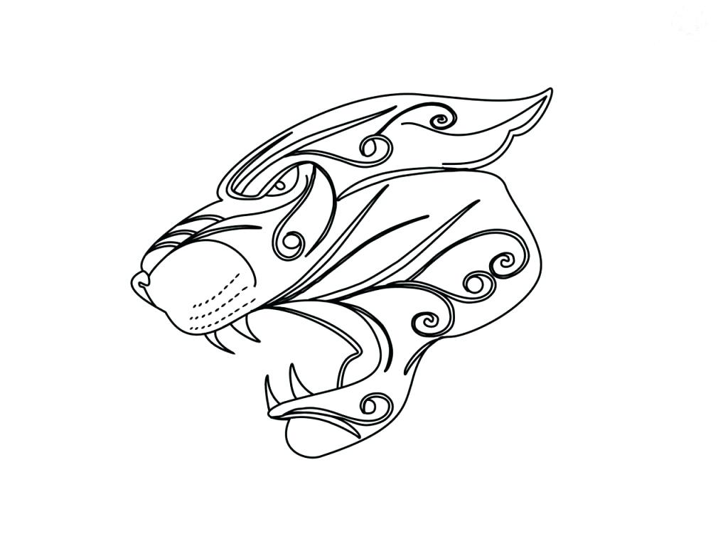 1024x768 Coloring Jaguar Coloring Pages Drawing Sheets Added Cartoon