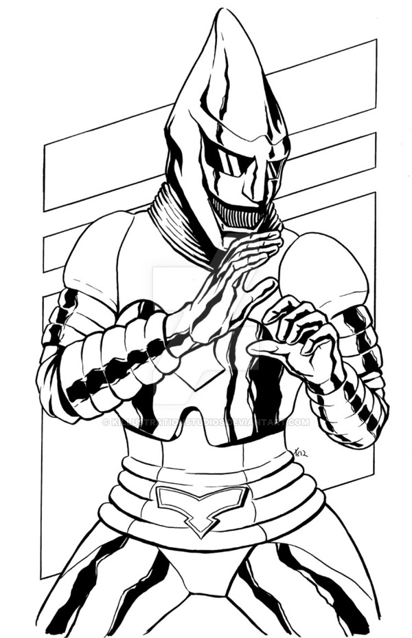 600x927 Jet Jaguar Bw By Killustrationstudios