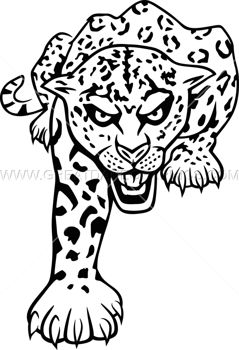 825x1210 Full Jaguar Production Ready Artwork For T Shirt Printing