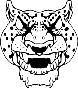 275x310 Mascot Decals Jaguar Mascot Decals Jaguars Head Mascot Decal