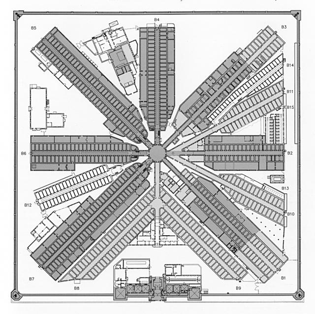 640x638 Prison Blueprint La Palimpsest