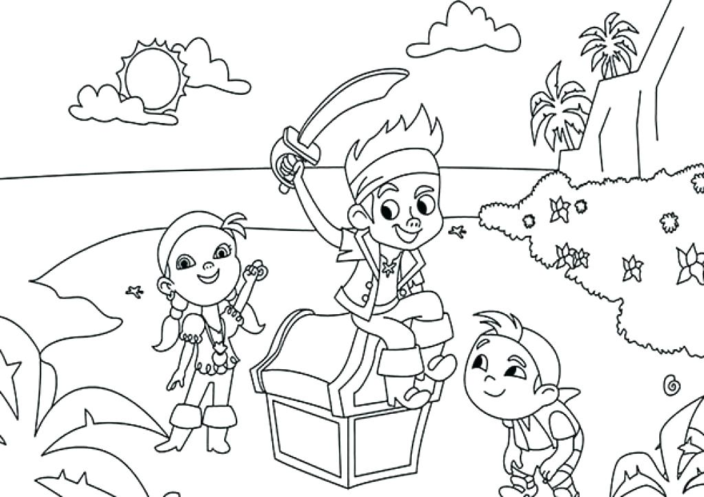 1024x723 Pirate Coloring Pictures Pirate Coloring Sheets Pirate Map