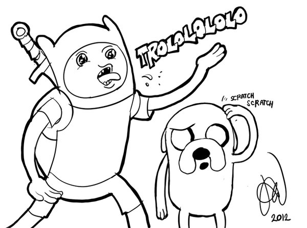 600x447 Finn The Human And Jake The Dog Of Adventure Time By Alvinsanity