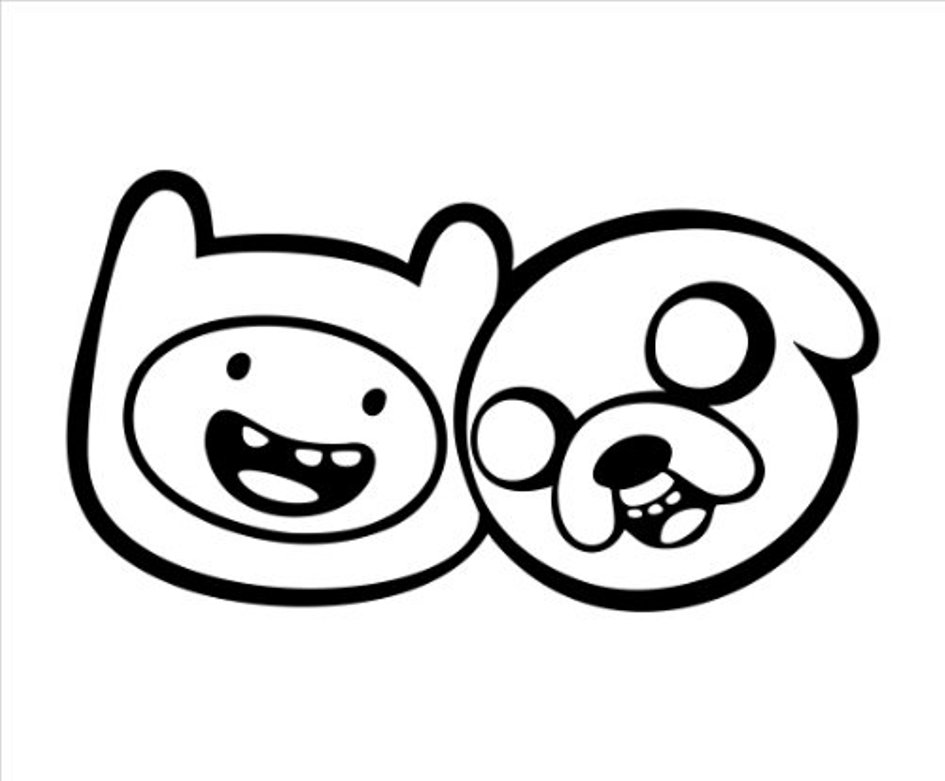 945x781 Download Printable Finn And Jake Adventure Time Coloring Pages