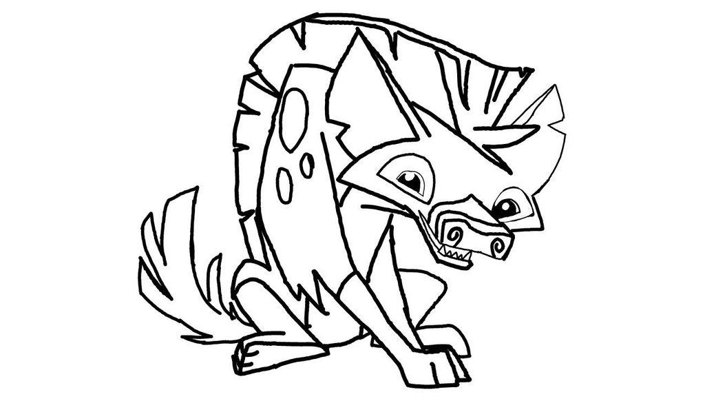 1024x582 Animal Jam Hyena Base By Drawingsforu