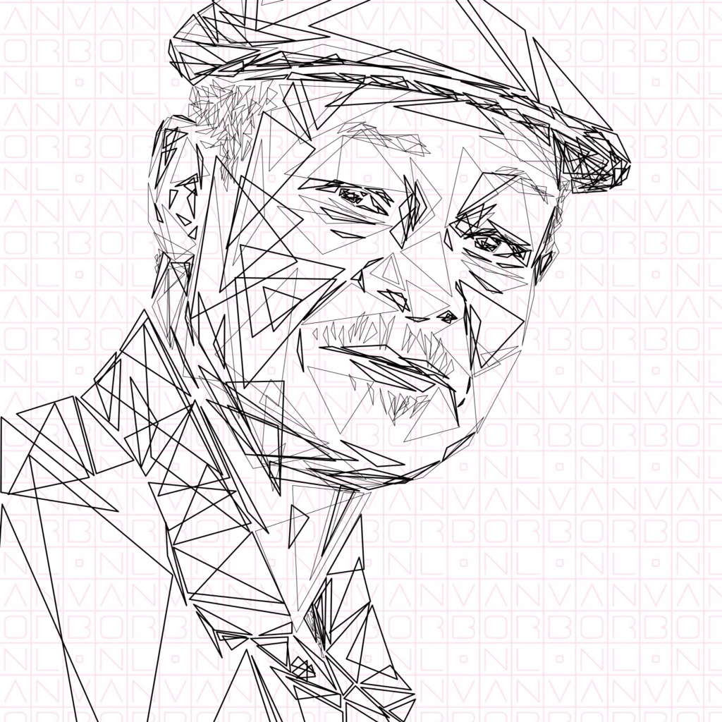 1024x1024 Ibrahim Ferrer Cuba Sketches