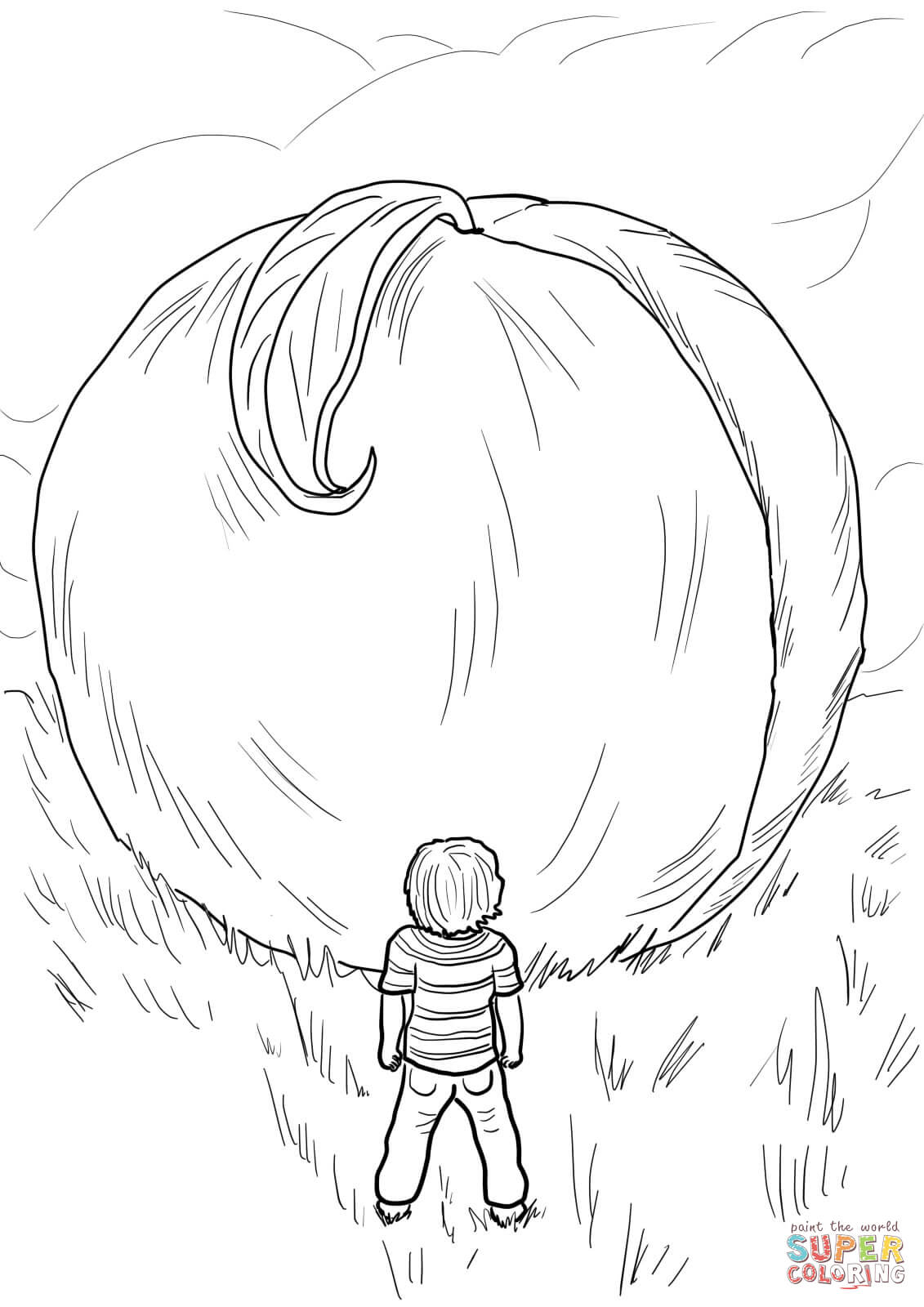 1131x1600 James And The Giant Peach Coloring Sheets