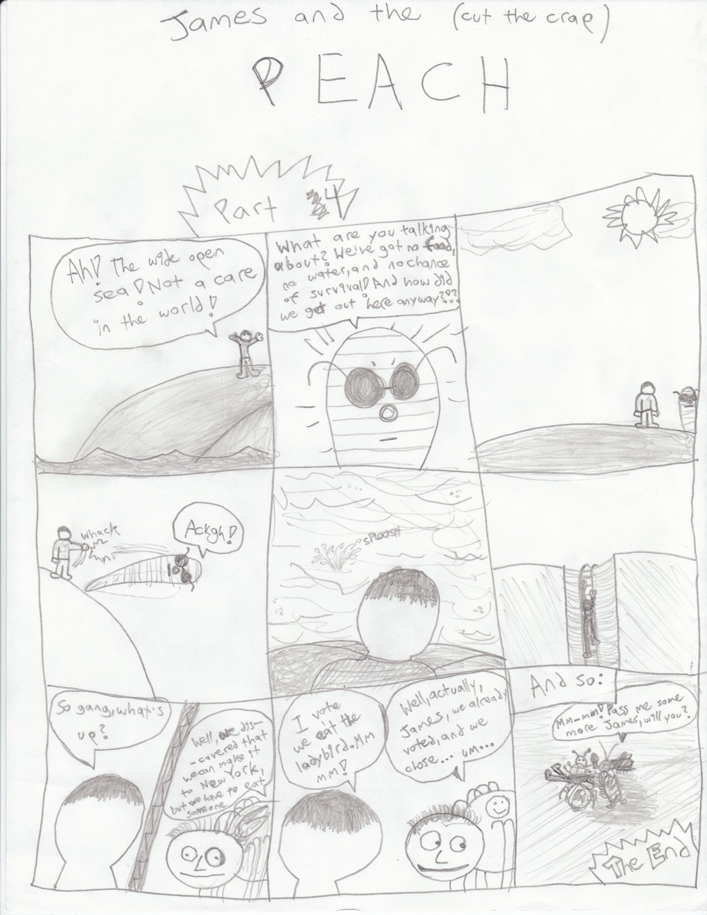 1020x1320 James And The Giant Peach Doodles And Doodads