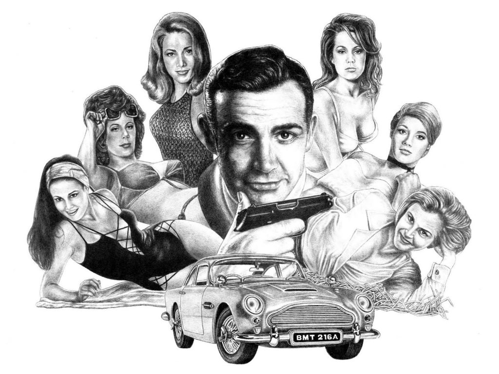 James Bond Drawing