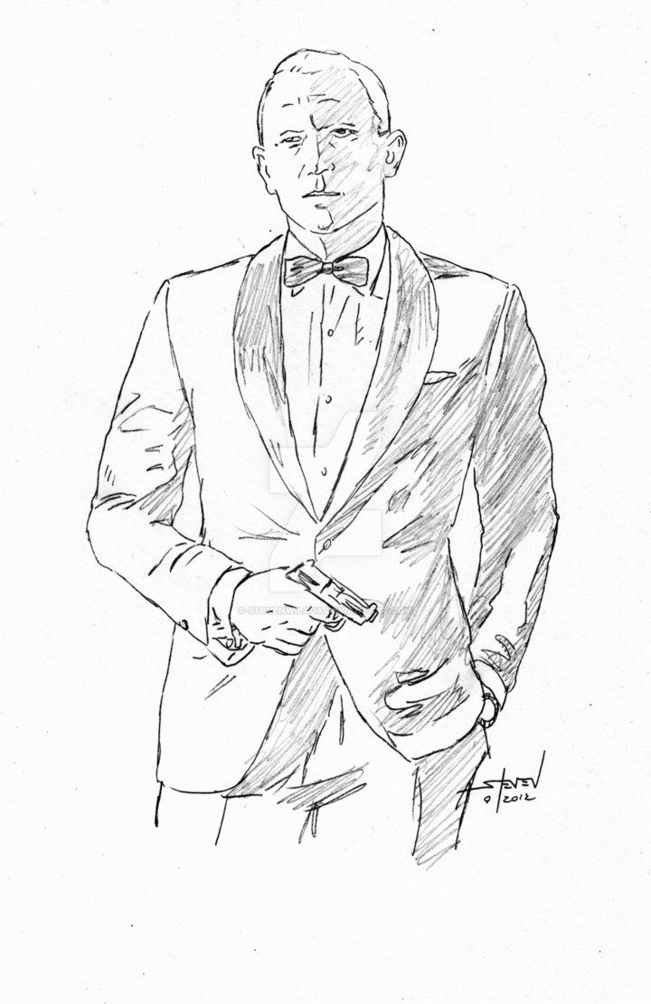 720x1110 James Bond Skyfall By Stevenwilcox