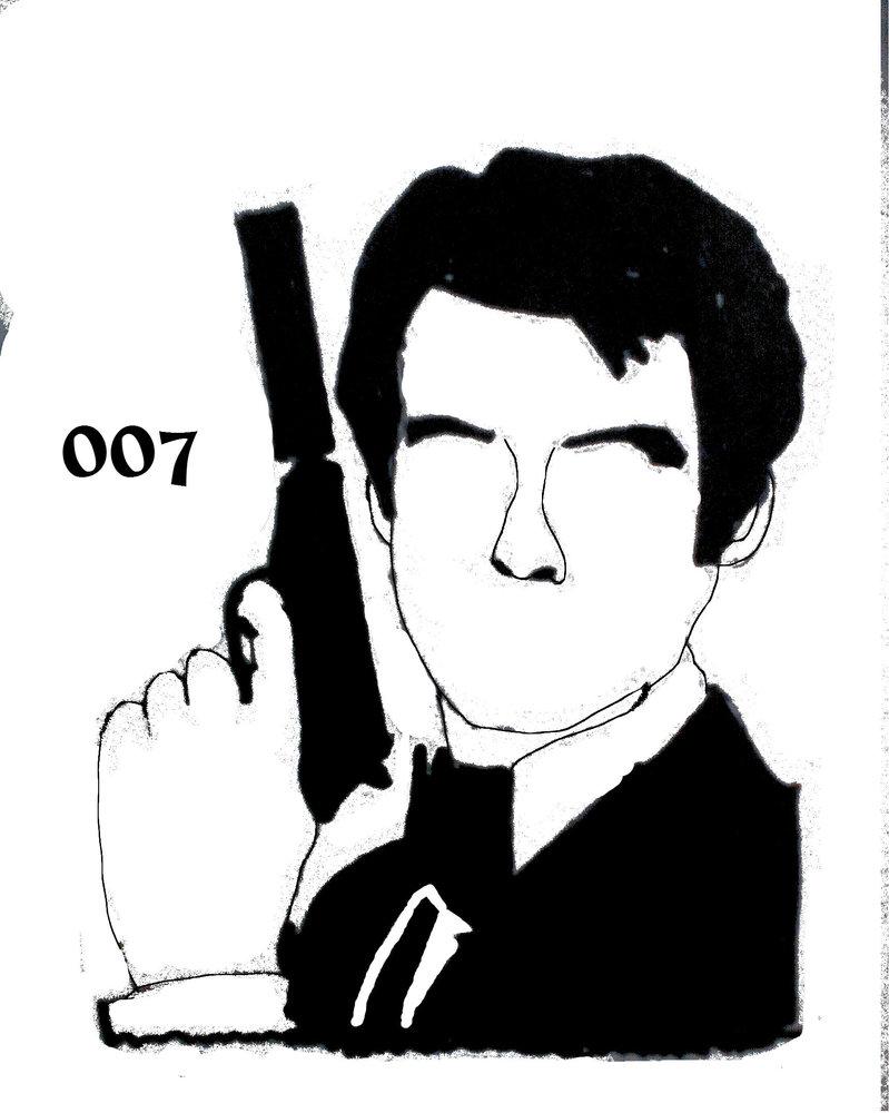 799x1000 James Bond By Lightasticdaniel